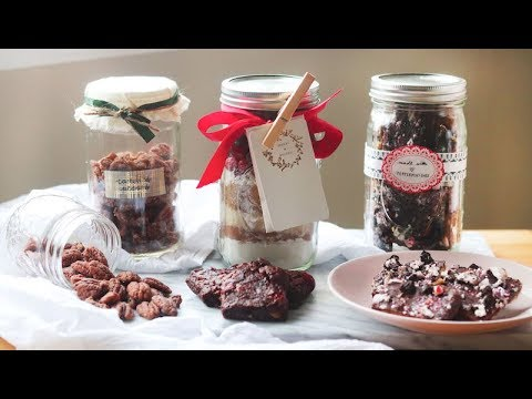 3 Edible Holiday Gifts in a Jar ✨Vegan Friendly! ☃️❄️