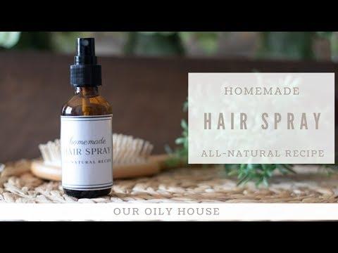 DIY Hair Spray Recipe   Hair Spray with Essential Oils
