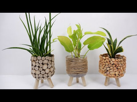 3 Creative Ways to Decorate Your Recycled Plastic Bottles for DIY Planter at Home