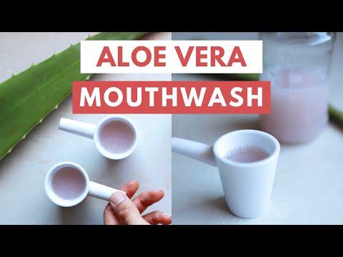 DIY Aloe Vera Mouthwash (Zero Waste Recipe)