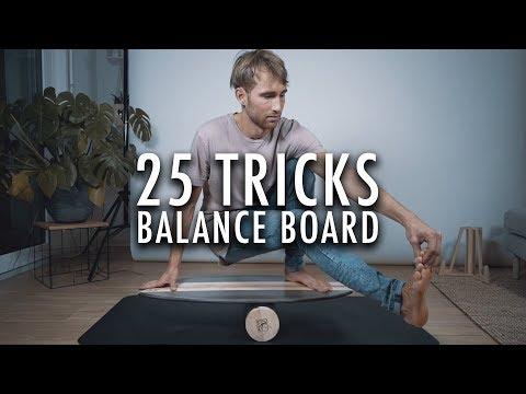 Balance Board Tricks - Training   Bredder