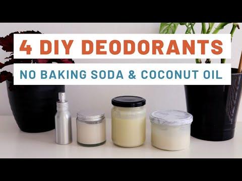 4 DIY Deodorant Recipes (Step-By-Step Tutorial)