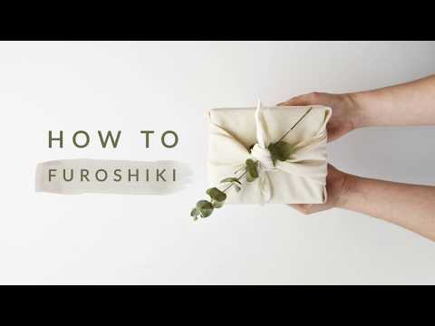 How To   Furoshiki - Japanese Gift Wrapping (part 1)