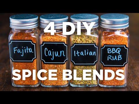 4 DIY Spice Blends