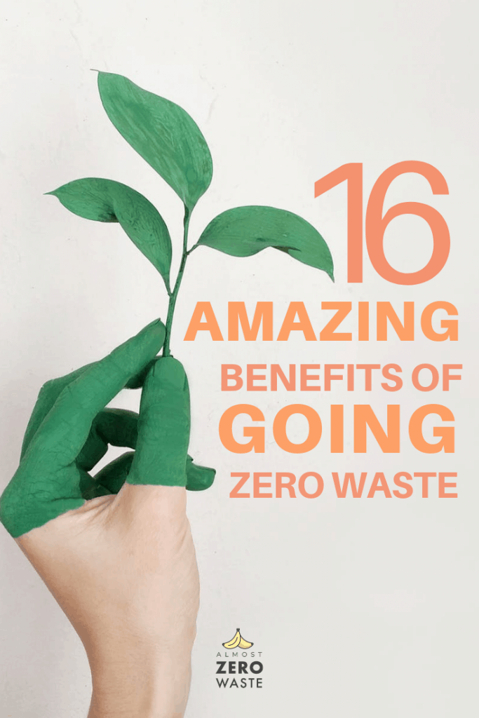 16 Odd But Amazing Benefits Of Going Zero Waste - Almost Zero Waste