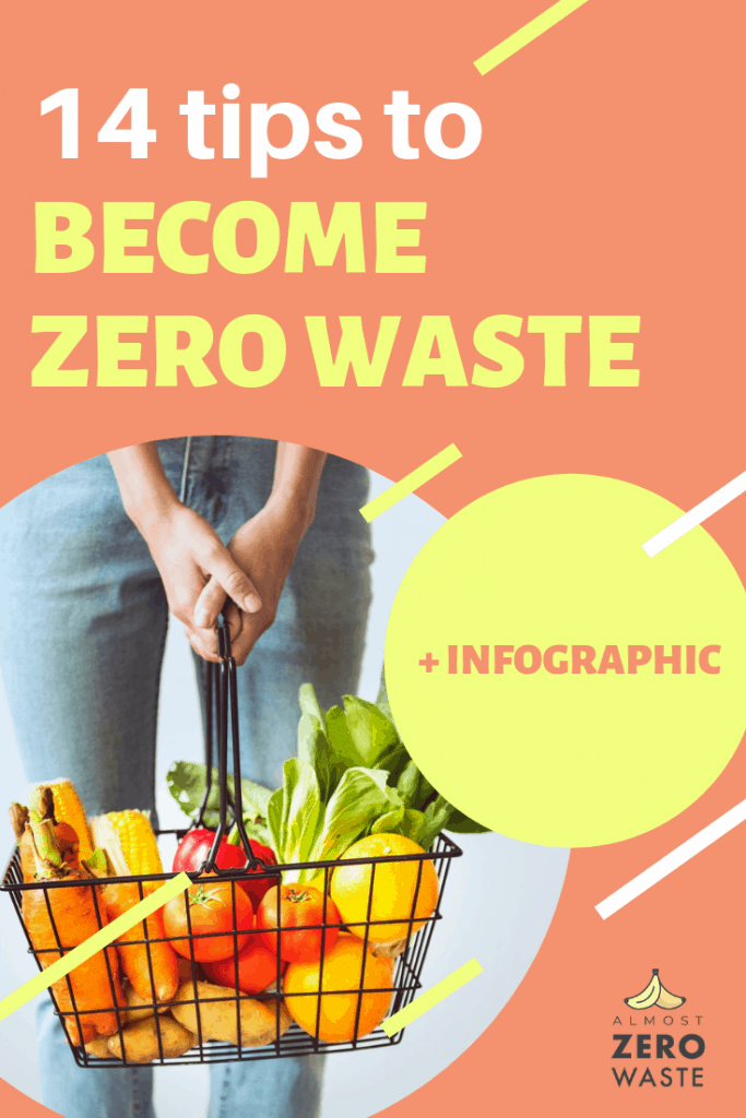 14 Tips For Beginners That Will Make You Almost Zero Waste (+Infographic) - Almost Zero Waste