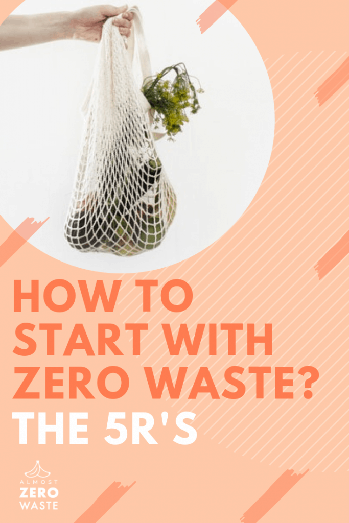 What Is Zero Waste and How To Get Started (the 5R's) - Almost Zero Waste