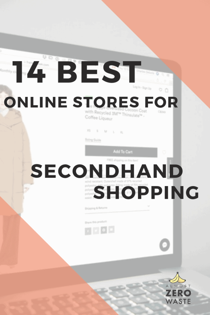 14 Of the Best Online Stores for Secondhand Clothes - Almost Zero Waste