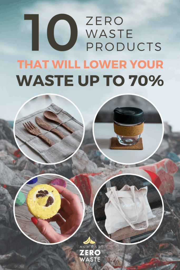 How To Lower 70% Of Your Waste With These 10 Items - Almost Zero Waste