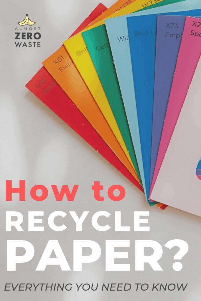 How To Recycle Paper – The ultimate guide - Almost Zero Waste