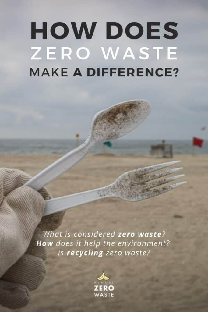 Does Zero Waste Make a Difference? How? - Almost Zero Waste