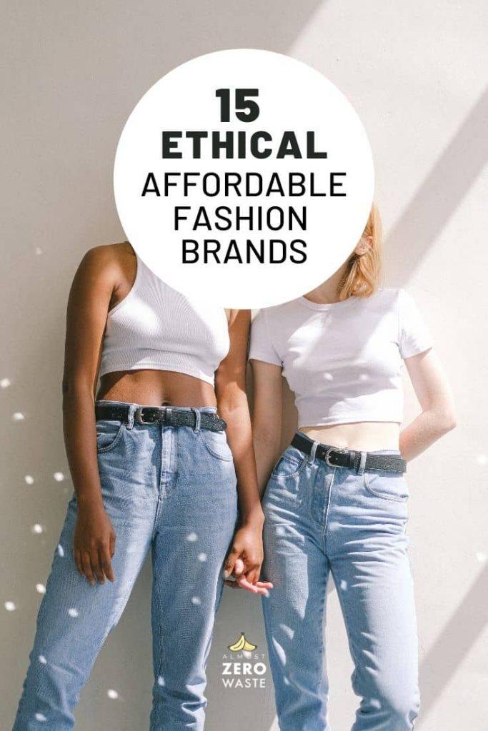 15 Zero Waste Clothing Brands (Cheap & Ethical) - Almost Zero Waste
