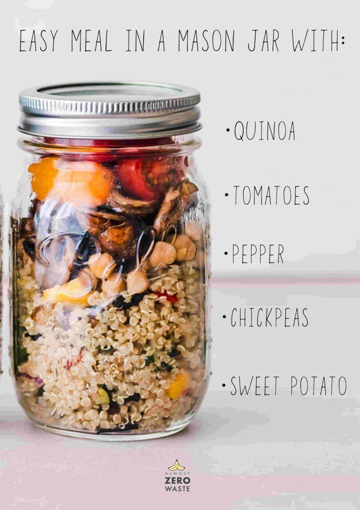 36 awesome mason jar uses: Salads - Almost Zero Waste