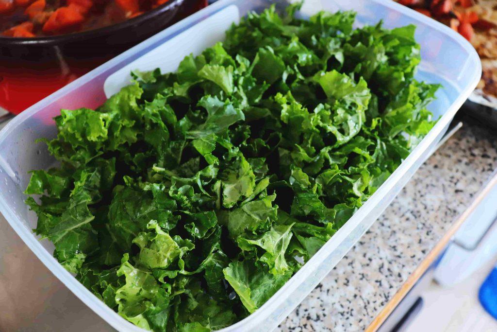 vegan high protein salad