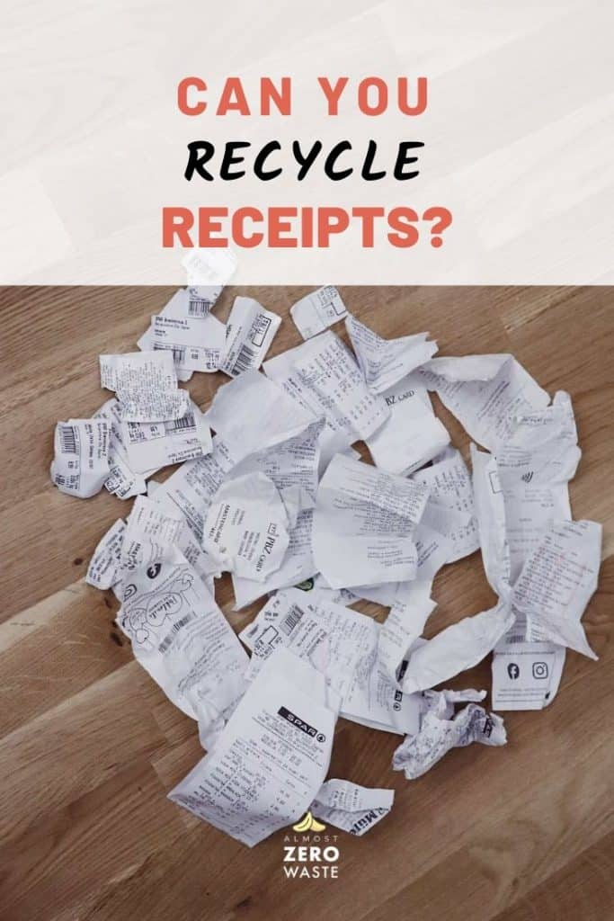 Can You Recycle Receipts - Almost Zero Waste