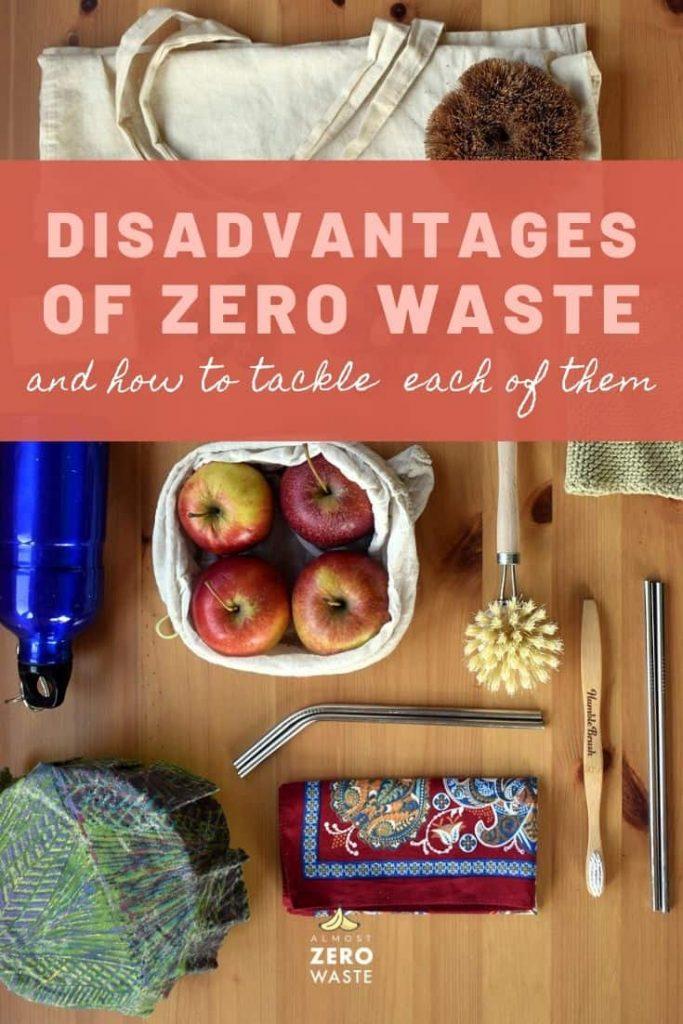 Disadvantages Of Zero Waste