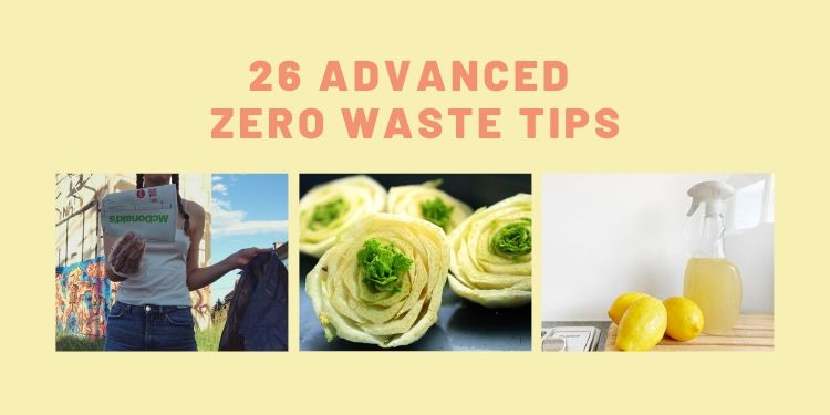 advanced zero waste tips