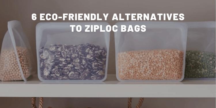 6 Eco-Friendly Alternatives To Ziploc Bags - Almost Zero Waste
