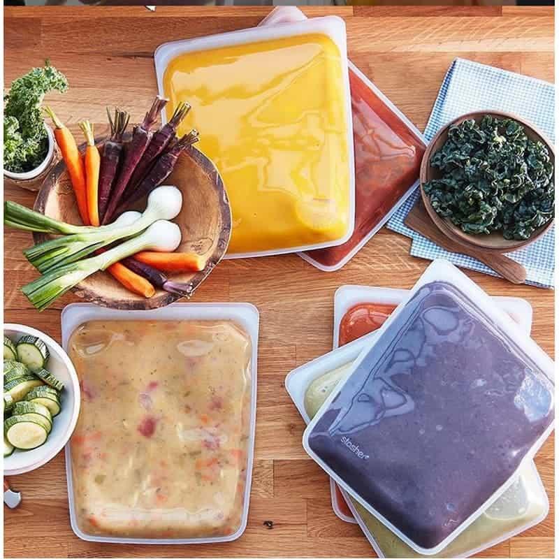 Zero Waste Ziploc Bags: 8 Reusable Alternatives - Almost Zero Waste