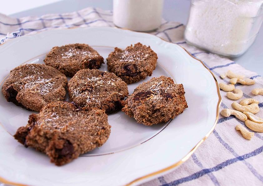 Cashew Pulp Cookies (Vegan, 4 Ingredients) - Almost Zero Waste