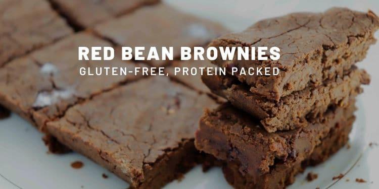 Kidney Bean Brownies (Vegan, High Protein) - Almost Zero Waste