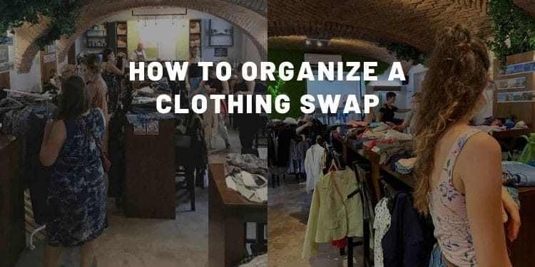 How To Organize A Clothing Swap - Almost Zero Waste