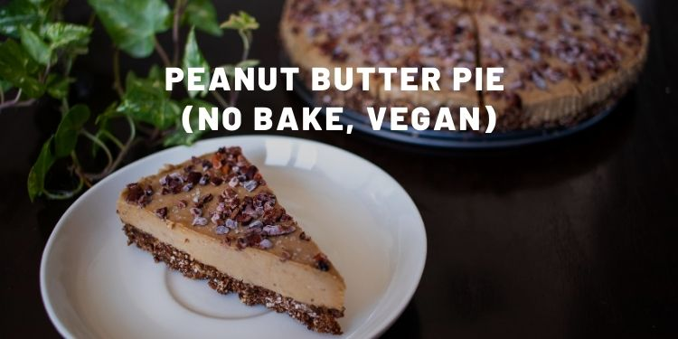 Peanut Butter Pie From Scratch