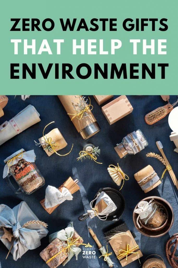 58 Zero Waste Gifts That Help The Environment - Almost Zero Waste