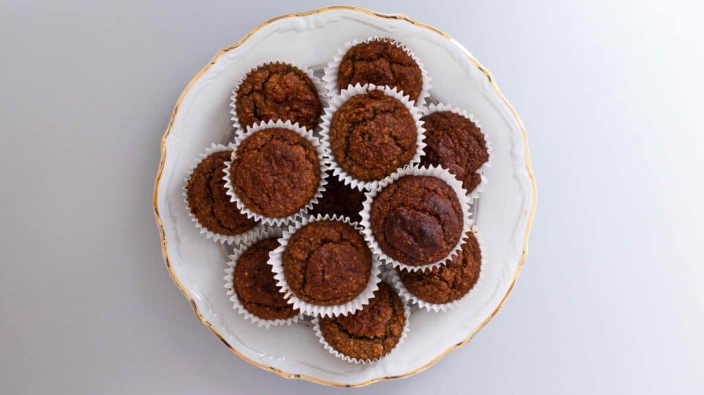 Vanilla Protein Powder Muffins (vegan) - Almost Zero Waste