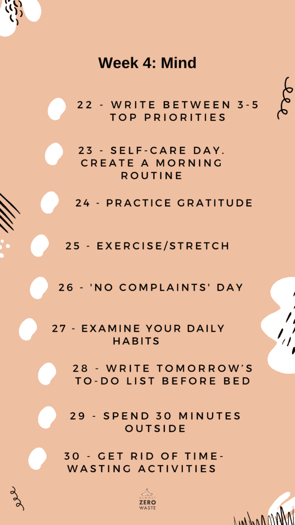 How To Become A Minimalist In 30 Days (4-Week Challenge) - Almost Zero Waste