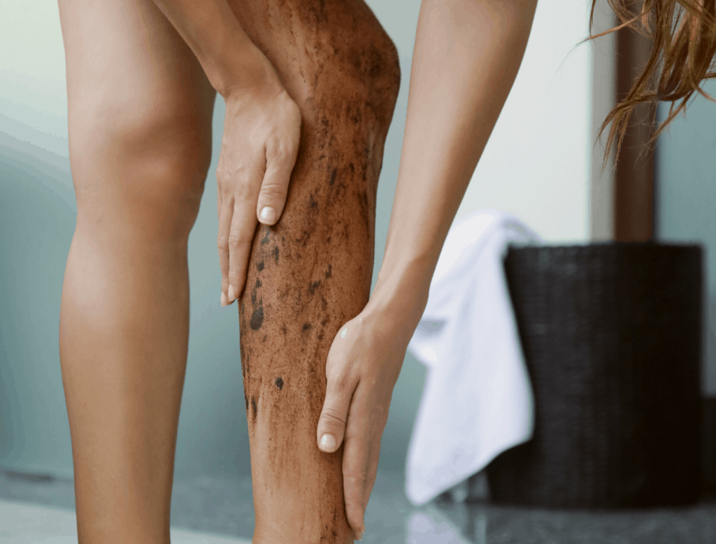 DIY coffee scrub without coconut oil