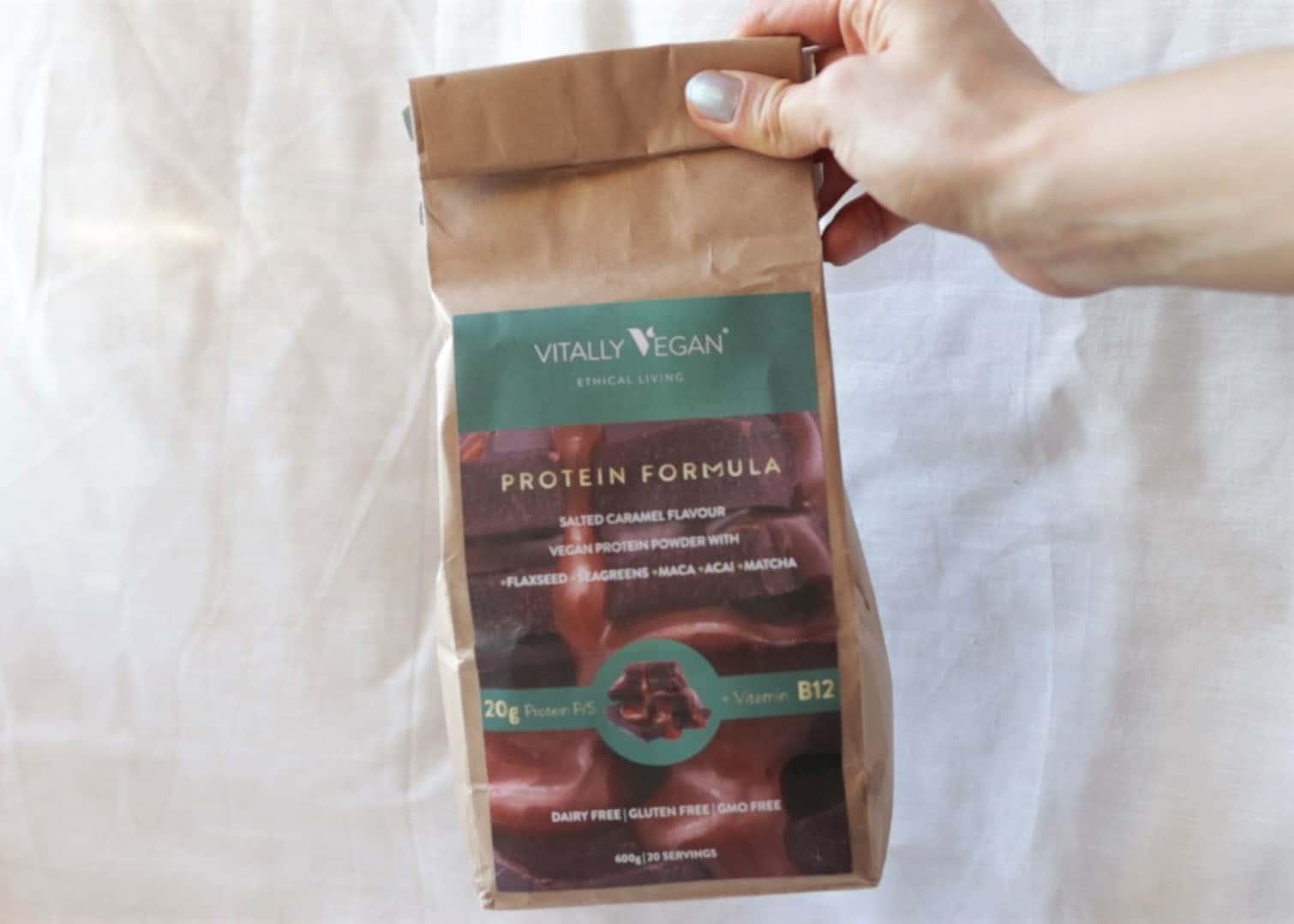 Vitally Vegan Protein Powder (use the ZEROWASTE code for £10 discount)