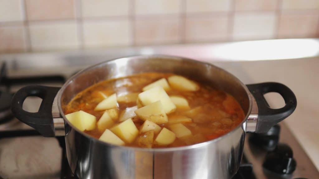 Vegan Potato Stew (Grandma's Recipe): Step 3